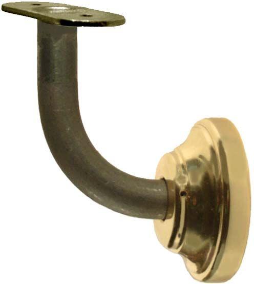 Equerre avec platine en acier forg pour escalier en fer - Equerre fer forge ...