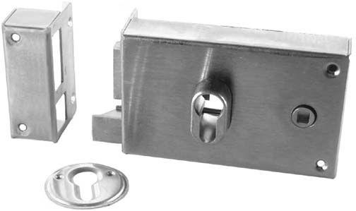 serrure de grille en acier droite pour portail en fer forge en acier ferronnerie la forge bertrand. Black Bedroom Furniture Sets. Home Design Ideas